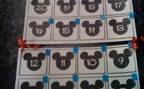 Disney Count Down Calendar