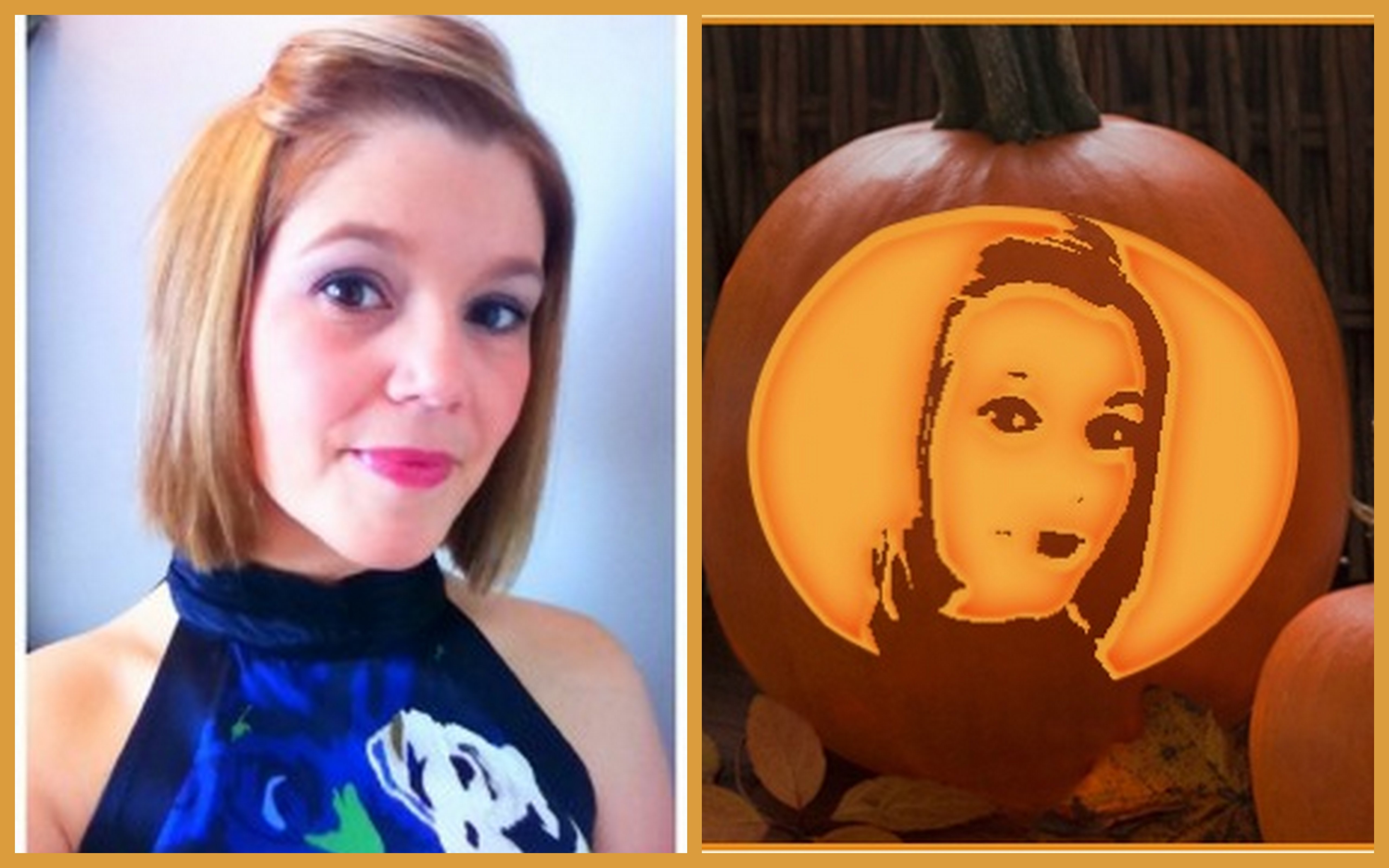 Create Your Own Pumpkin Carving Template Using Your Pics