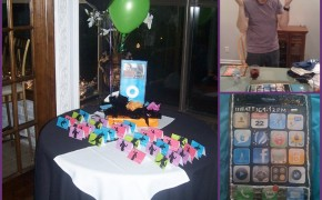 iphone cake themed party