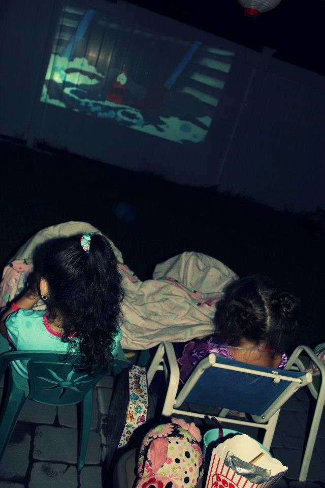 Night Owl Party Outdoor movie