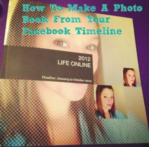 SnapFish SocialPics Books creates a custom printed book from your Facebook Page