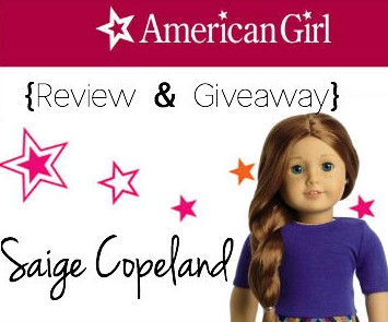 2013 American Girl Saige Copeland Giveaway-VIDEO