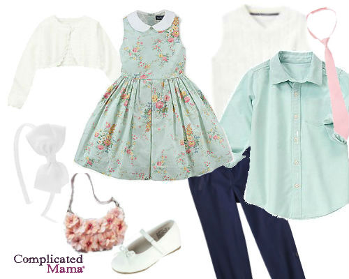 Ralph Lauren Kids Easter Outfit 2013 spring dress