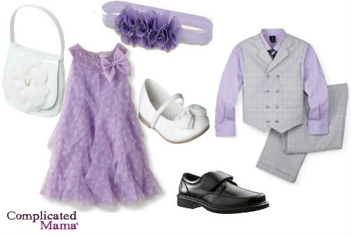 brother sister matching easter outfit 2013 purple