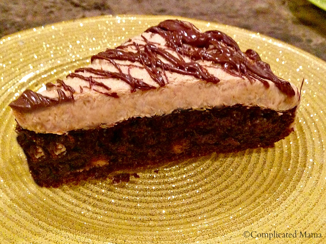 Chocolate Cake With Peanut Butter Mousse Frosting {Recipe ...