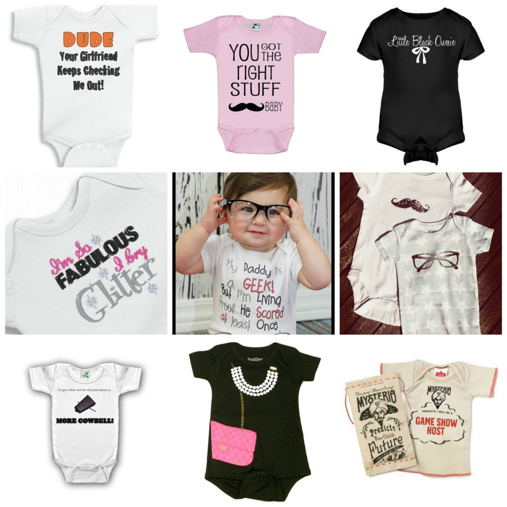 Funny Baby Onesies and Graphic T-shirts 2013