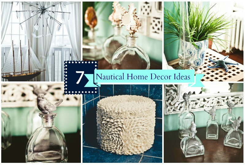 Simple and affordable nautical home decor ideas for Simple home decor ideas