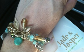 Jade and Jasper- Getting Gorgeous 2013 nyc - fashion jewelry- trendy statement bracelet