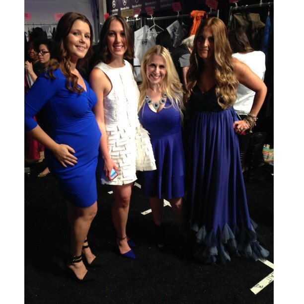 Cottonelle Mom Ambassadors At Fashion Week New York 2013