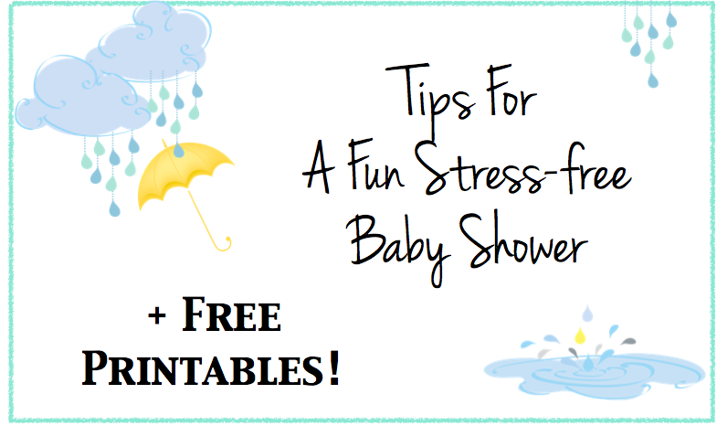 Baby Shower Free Printables And Planning Tips