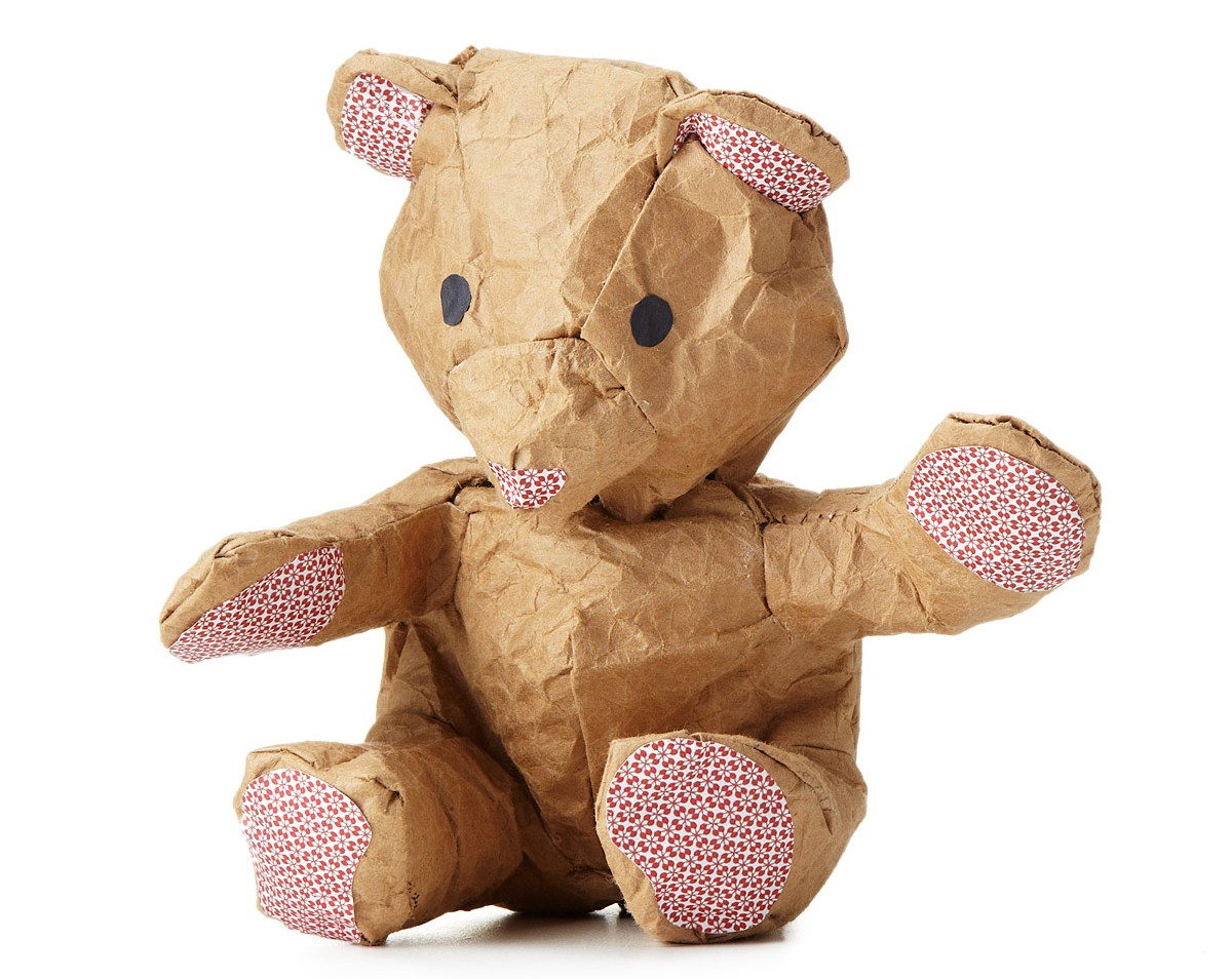 crumple make your own paper bear