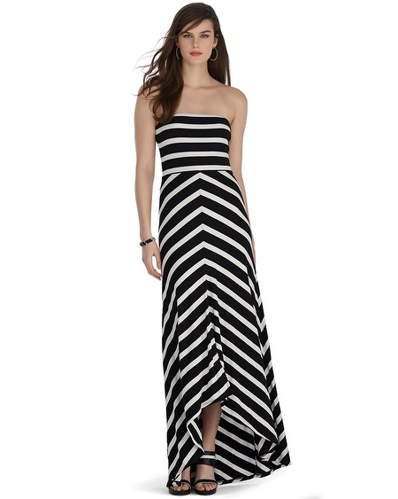 Maxi dress for petite body type