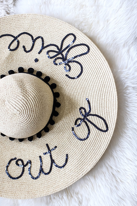 floppy office. out of office floppy hat s